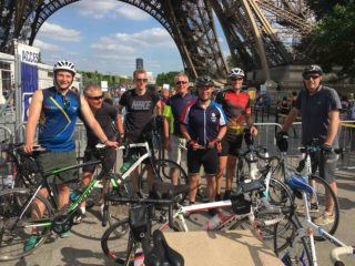 Westridge staff complete Bodiam to Paris cycle ride